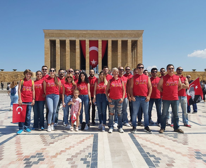 30 Ağustos'ta Anıtkabir'deydik!